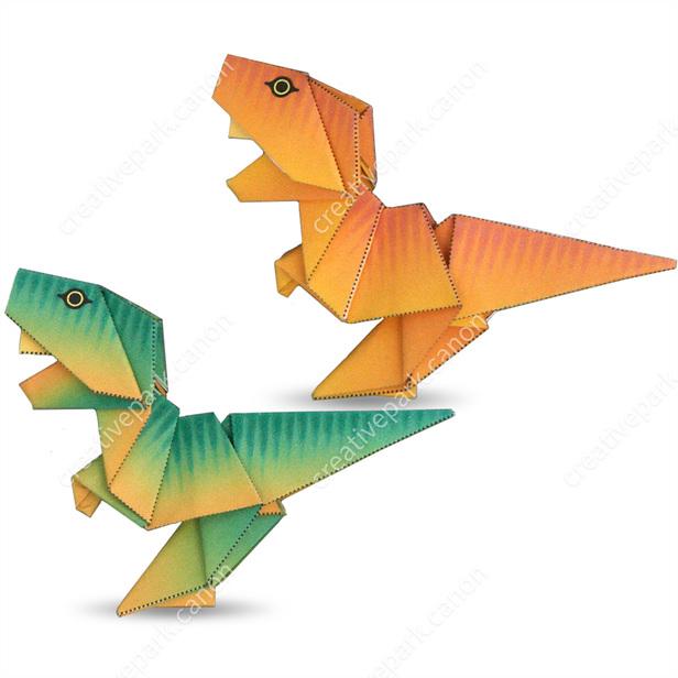 折り紙 簡単 子ども 恐竜