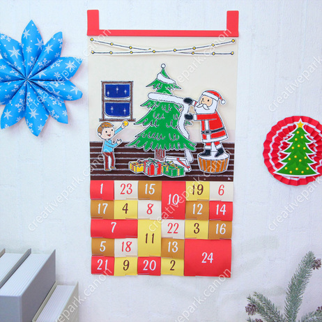 Christmas: Advent calendar,Advent calendars,Calendars,Christmas,party,red,calendar,decoration