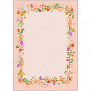 thanksgiving 0002 autumn stationery card canon creative park