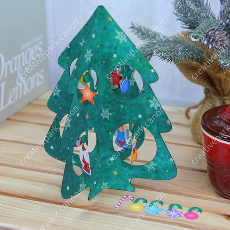 Miniature Tree (Pop),Toys,Paper Craft,Christmas,Christmas Tree,ornament,decoration,tree