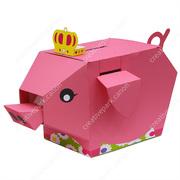 Moving Money Box: Pig