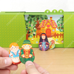 Hansel and gretel play educational paper craft for Good craft 2 play store
