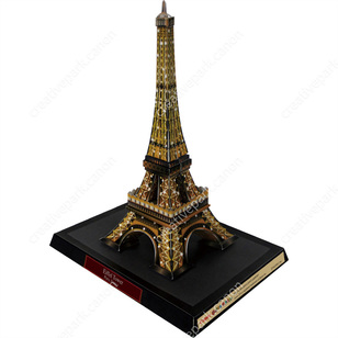 Eiffel Tower Night FranceArchitecturePaper CraftEuropeVietnam