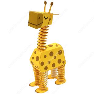 Поделки с жирафами из бумаги 104