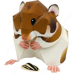 Syrian HamsterAnimalsPaper CraftRodentiaMammals AnimalsPaper Craft