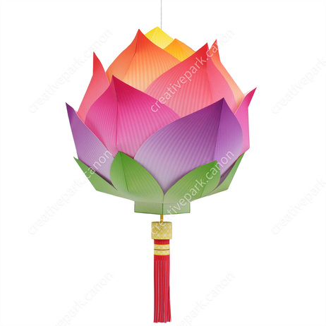 Lotus Lantern,Home and Living,Paper Craft,Asia / Oceania,China,decoration,Lantern