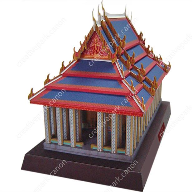 Temple of the Emerald, Thai - Asia / Oceania - Architecture