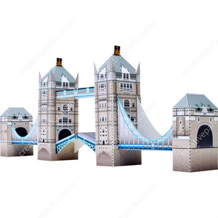 Tower Bridge England Mini VersionArchitecturePaper CraftPaper CraftUnited