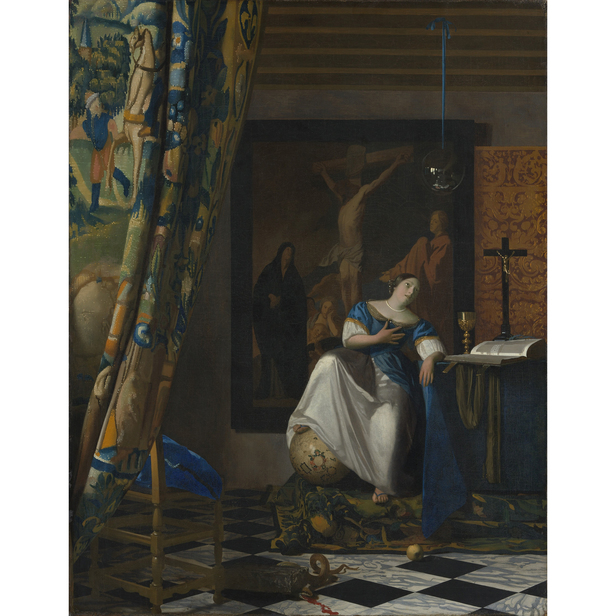 Vermeer Faith in Painting