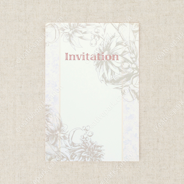 Invitation Cards Botanicals Others Greeting Cards