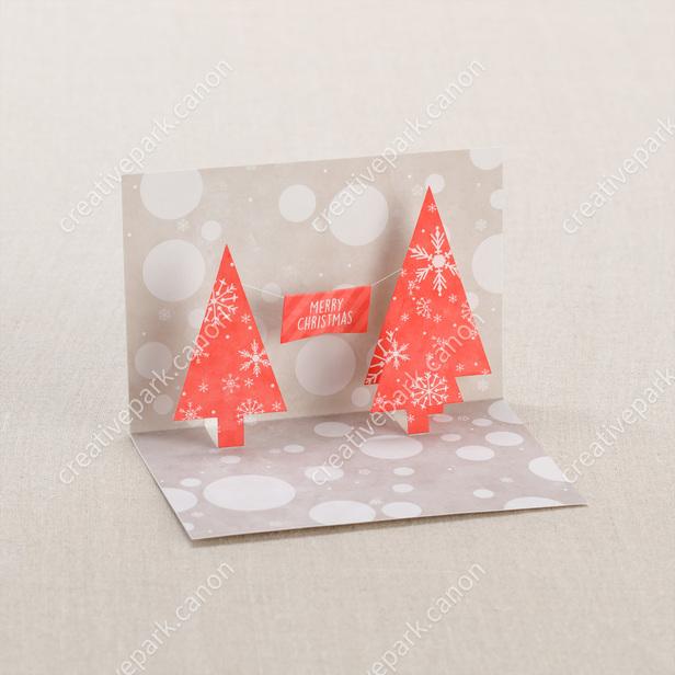 pop up karte weihnachten